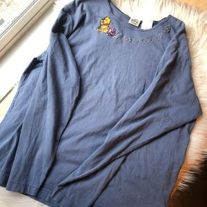 Disney vintage Winnie the Pooh honey shirt XL